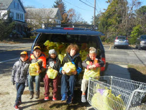 Boy Scout Food Drive Pack 156 Lacey Twp