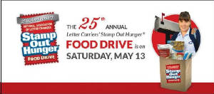 Forked RIver Post Office Stamp Out Hunger
